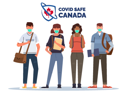 iCent app COVID safe canada Banner